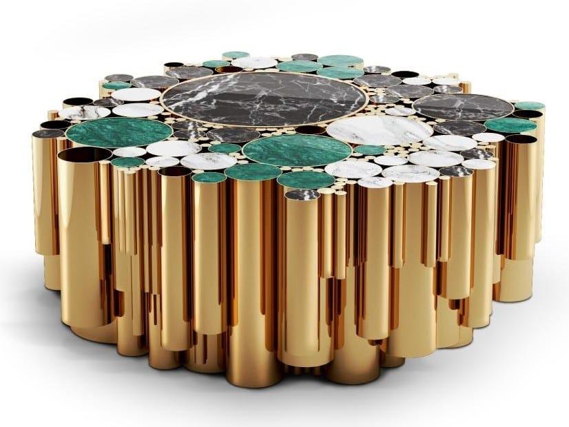 Brass coffee table WANDERLUST | Coffee table by Malabar