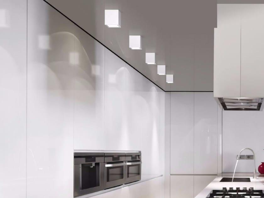 Lampada da soffitto a LED a luce diretta in alluminio WANTED   Lampada da soffitto by GLIP by S.I.L.E