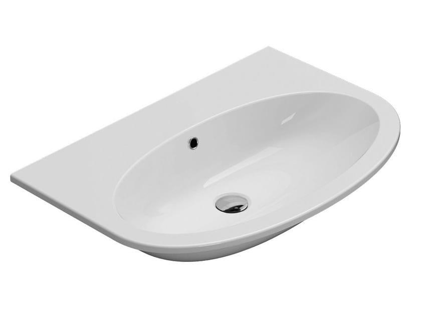 All lavabo collezione all by ceramica globo