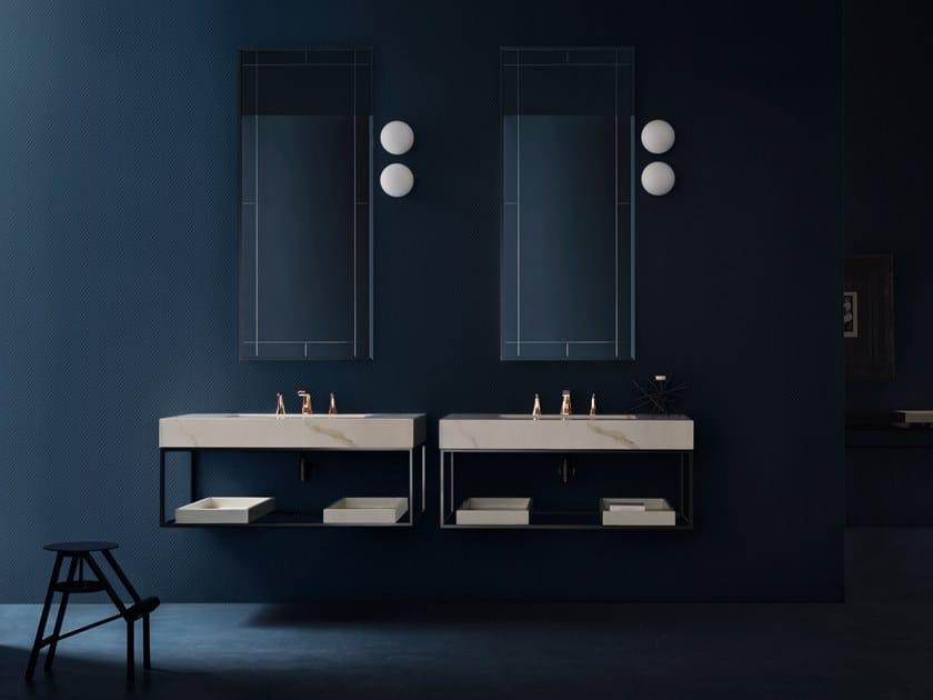 Laminam® washbasin countertop MAORI | Laminam® washbasin countertop by Cerasa