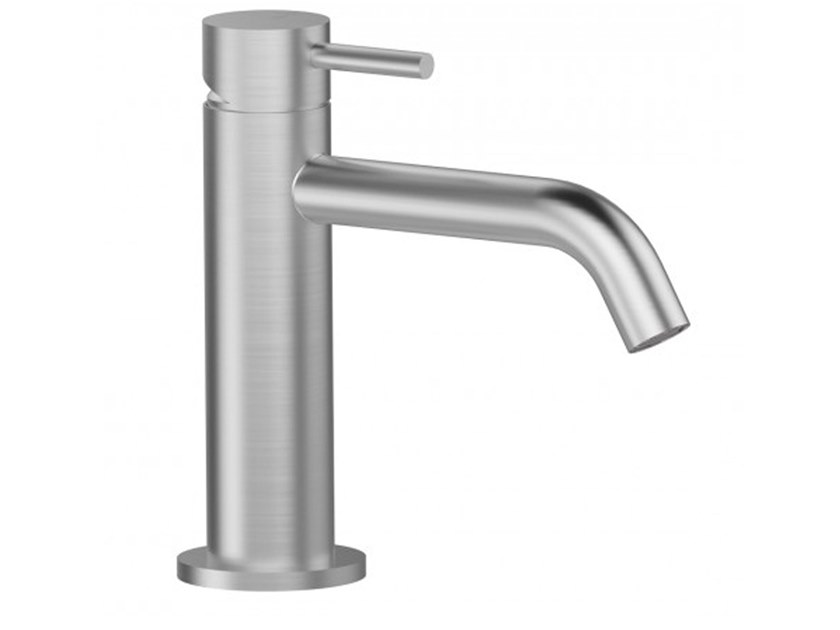 Countertop stainless steel washbasin mixer STEEL | Washbasin mixer by BIANCHI RUBINETTERIE