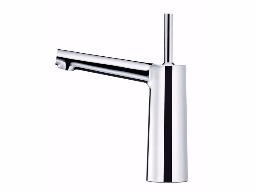 Countertop 1 hole chromed brass washbasin mixer CHAPTER | Washbasin mixer by JUSTIME