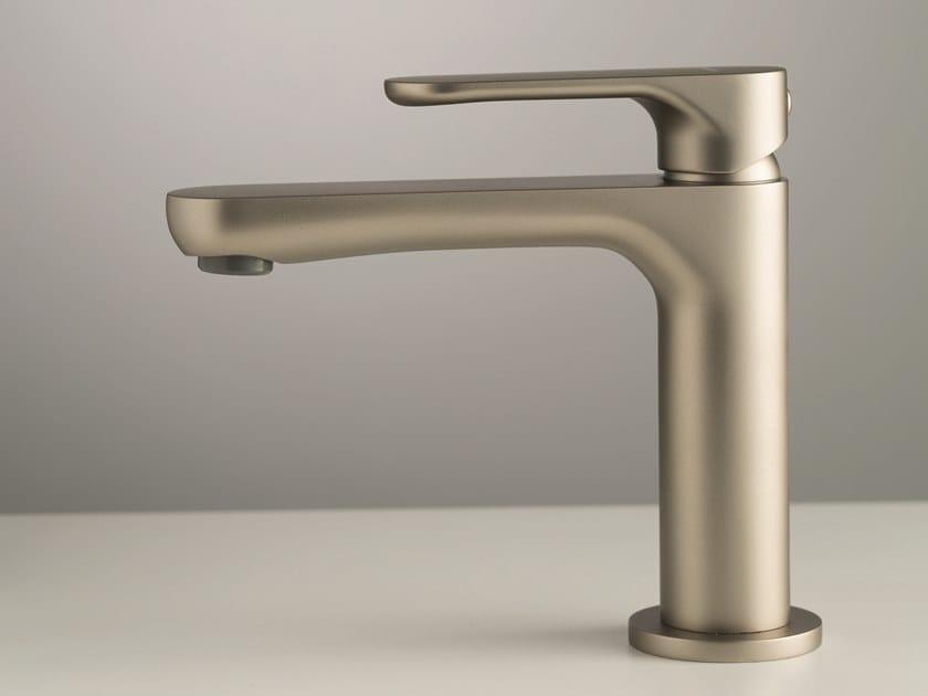 Countertop single handle washbasin mixer without waste LINFA II | Washbasin mixer by newform