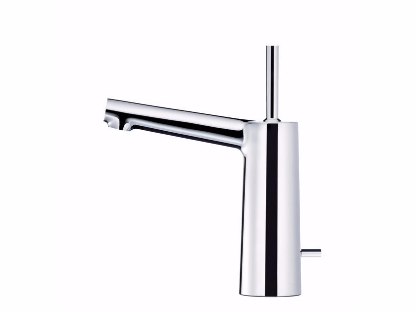 Washbasin mixer with lift rod CHAPTER   Washbasin mixer with automatic pop-up waste by JUSTIME