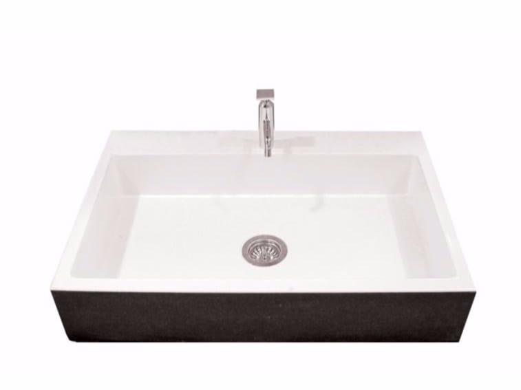 Glazed lava washbasin 7507 | Washbasin by Sgarlata