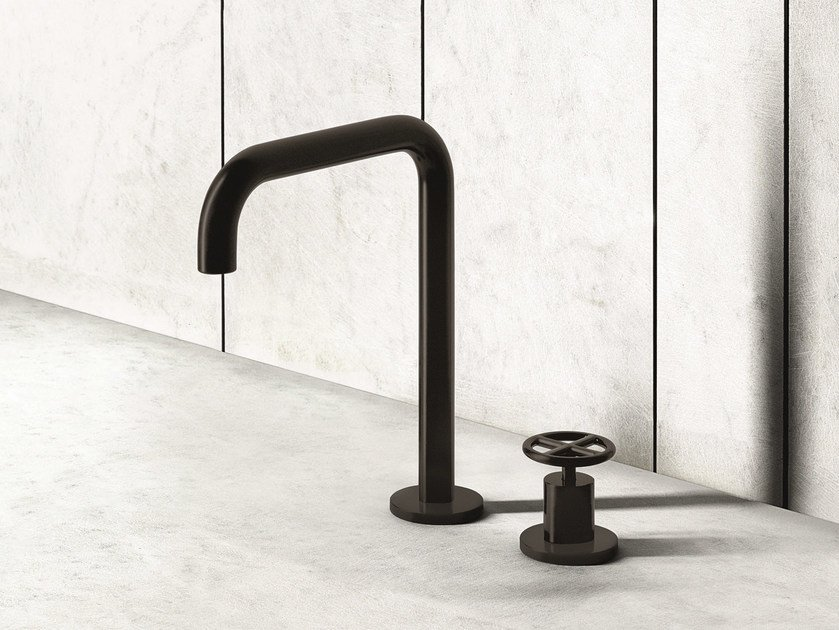 2 hole countertop washbasin mixer FONTANE BIANCHE | Washbasin mixer by Fantini Rubinetti