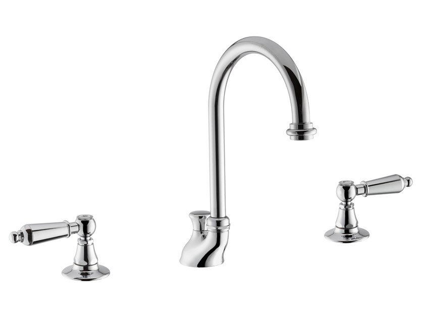 3 hole countertop washbasin tap DAYTIME STYLE | Washbasin tap by newform
