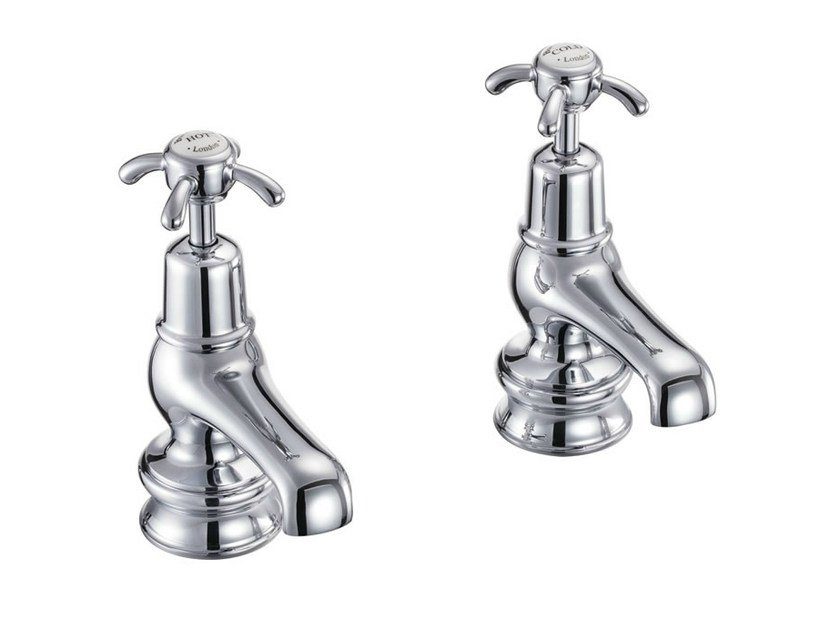 2 hole countertop chromed brass washbasin tap ANGLESEY REGENT | Washbasin tap by Polo