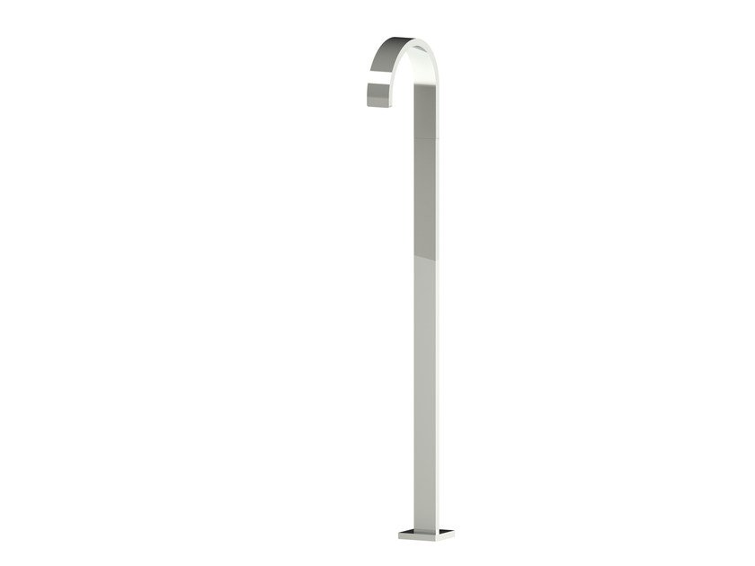 Floor standing bathtub spout LINE | Bathtub spout by rvb