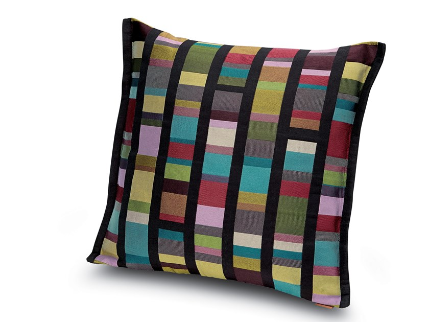 Cushion in jacquard fabric WASHINGTON by MissoniHome