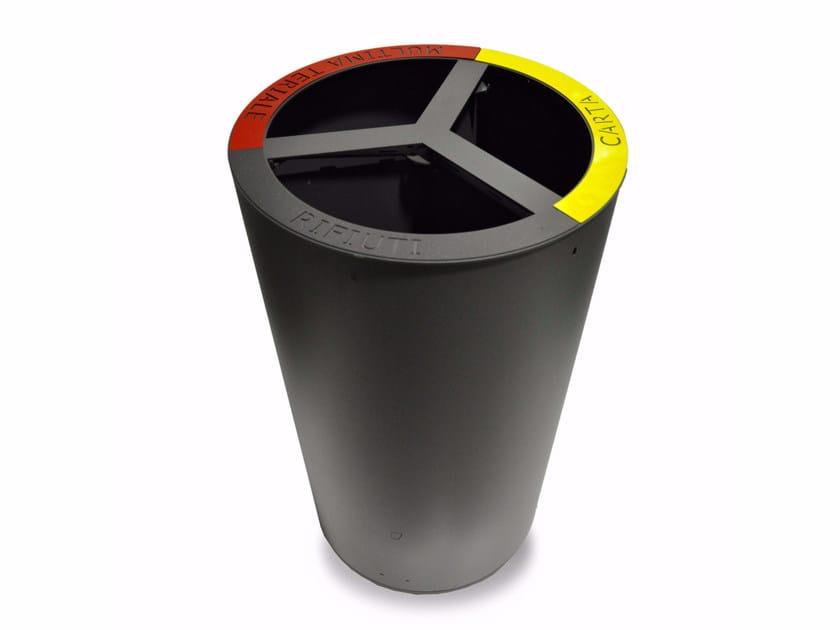 Litter bin for waste sorting TRIBIN ECO by LAB23