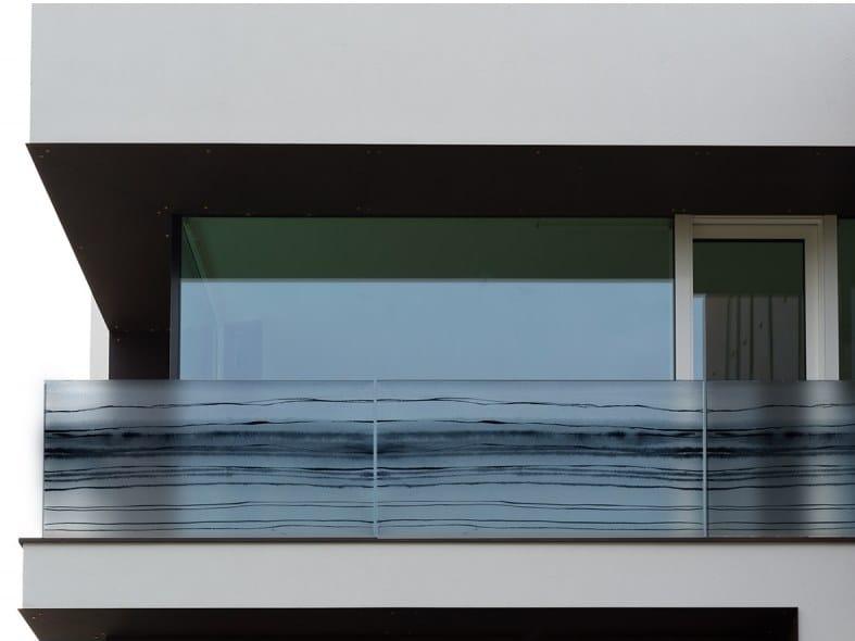 Adhesive decorative window film WATERCOLOR by ACTE-DECO