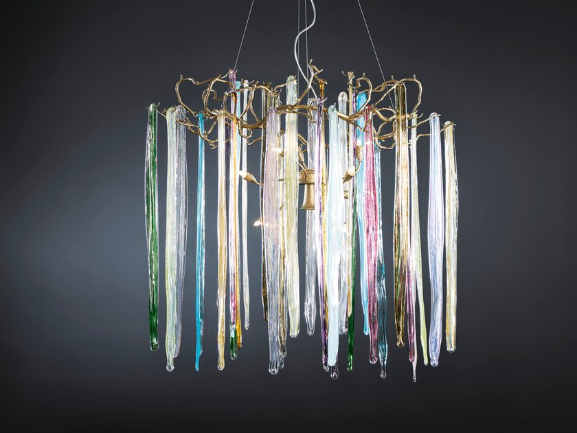 Halogen pendant lamp WATERFALL | Pendant lamp by Serip
