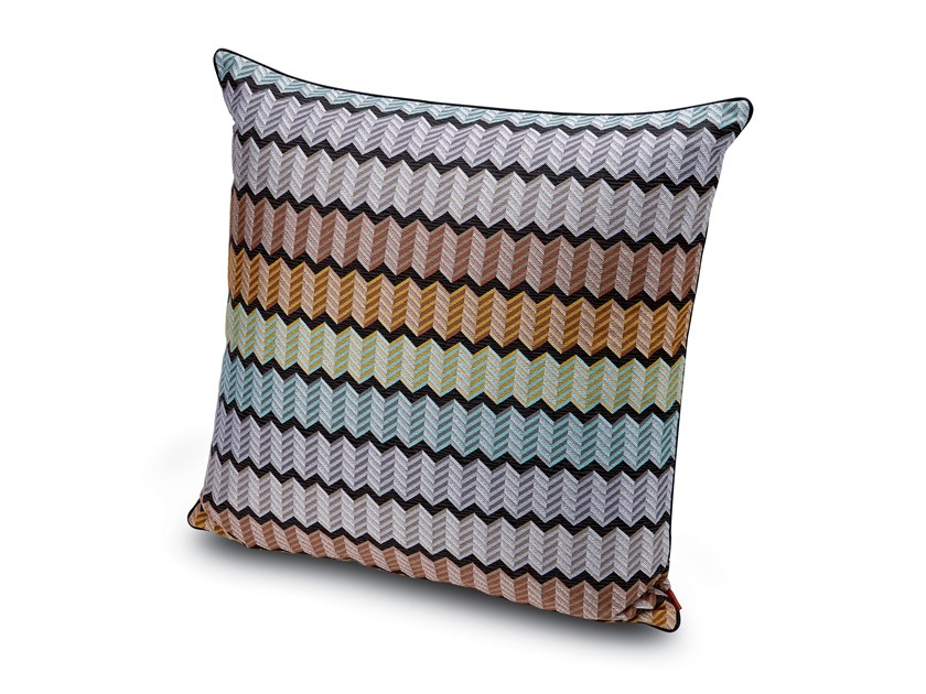 Cushion in jacquard fabric WATERFORD by MissoniHome