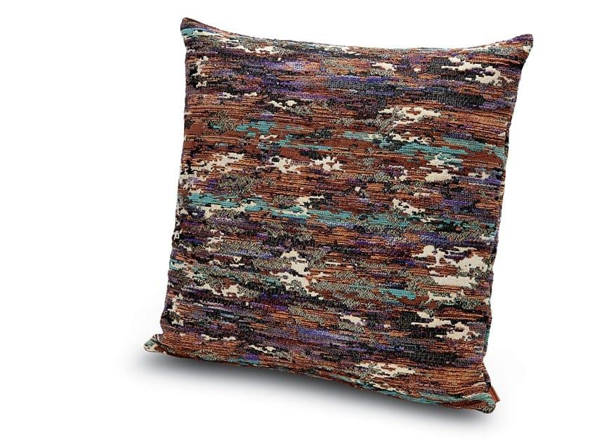 Cushion in jacquard fabric WATERLOO | Cushion by MissoniHome
