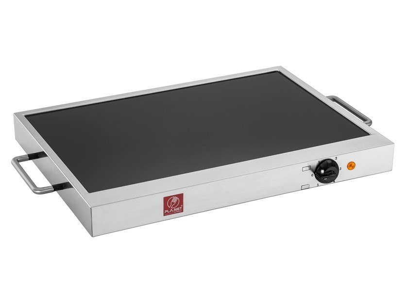 Electric glass ceramic barbecue WATT SLIM by PLA.NET BBQ