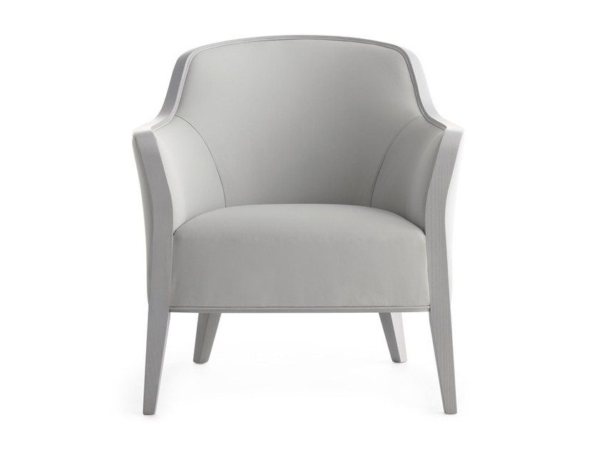 Easy chair with armrests WAVE 02741 by Montbel