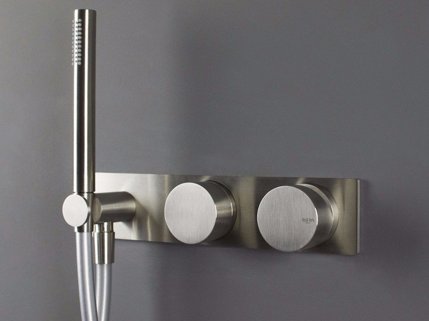Stainless steel bathtub tap / shower tap WAVE - 1220171/2 Wave ...