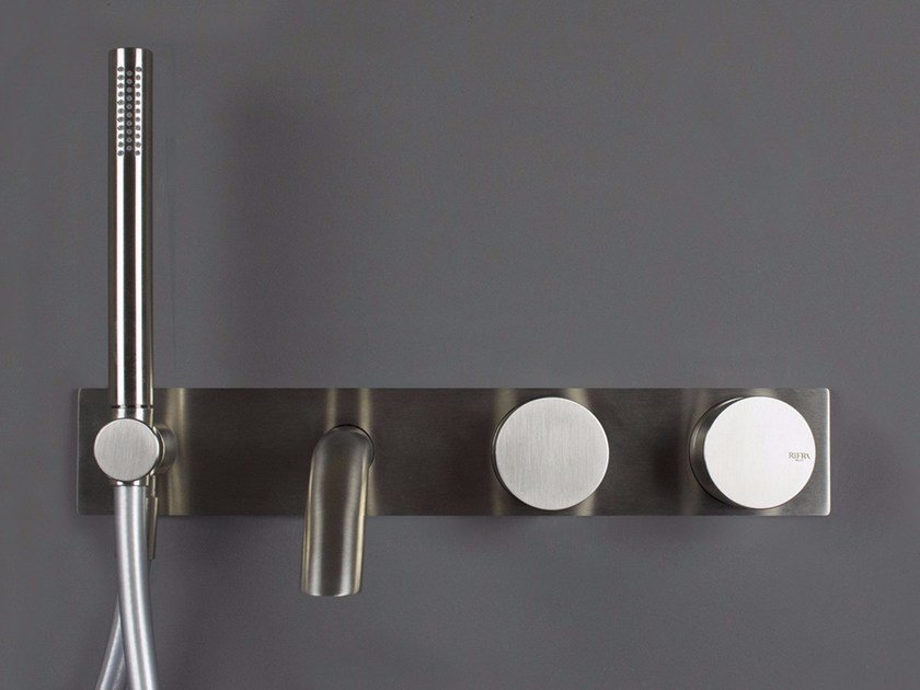 Stainless steel bathtub tap / shower tap WAVE - 1220211/2 Wave ...