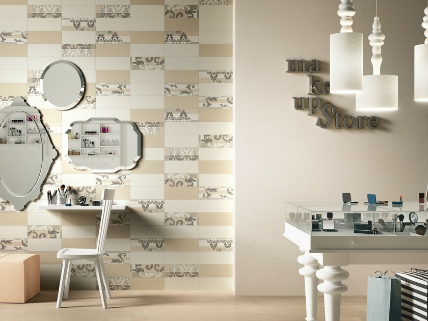 Double-fired ceramic wall tiles WAVE by Ceramica d'Imola