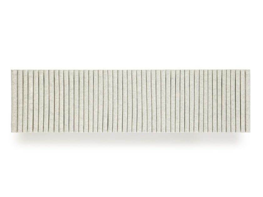 Felt Decorative acoustic panel WAVE | Decorative acoustic panel by HEY-SIGN