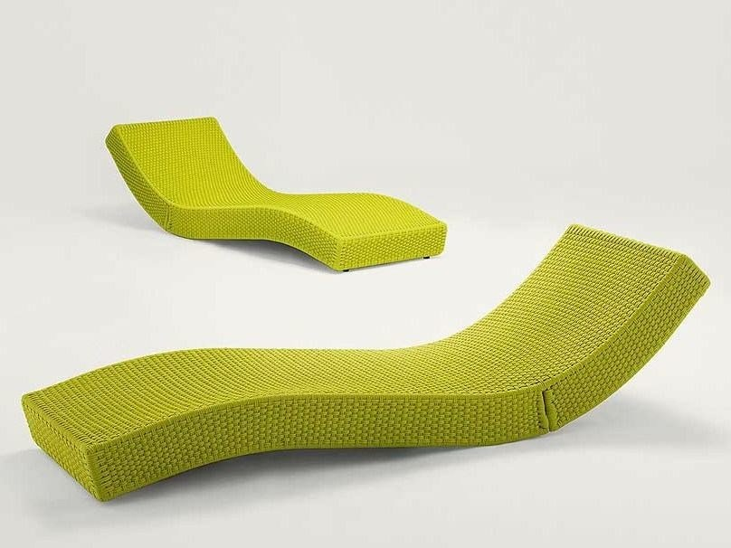Recliner garden daybed WAVE by paola lenti