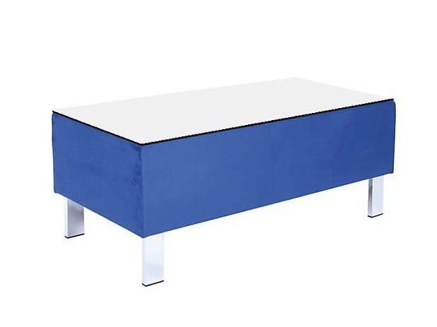 Modular rectangular coffee table WAVE | Rectangular coffee table by SMV