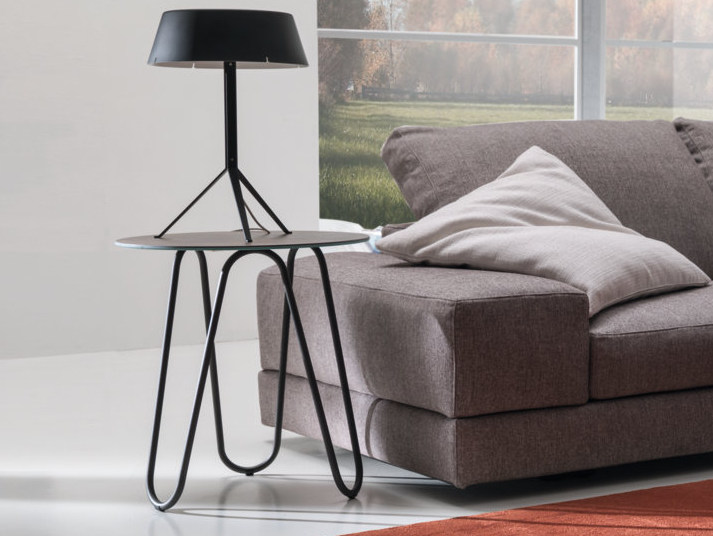 Round side table WAVE | Side table by IDEAS Group