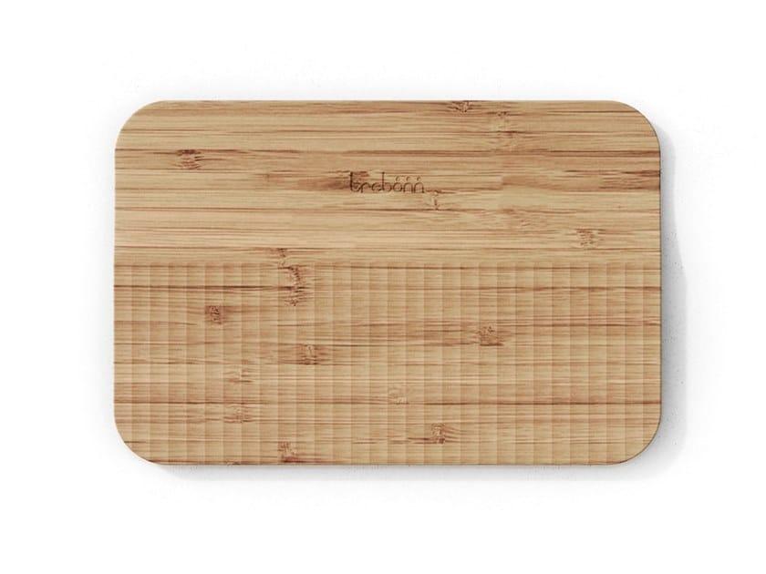 Tagliere in bambù con pattern guida-taglio WAVE | Tagliere in bambù by Trebonn