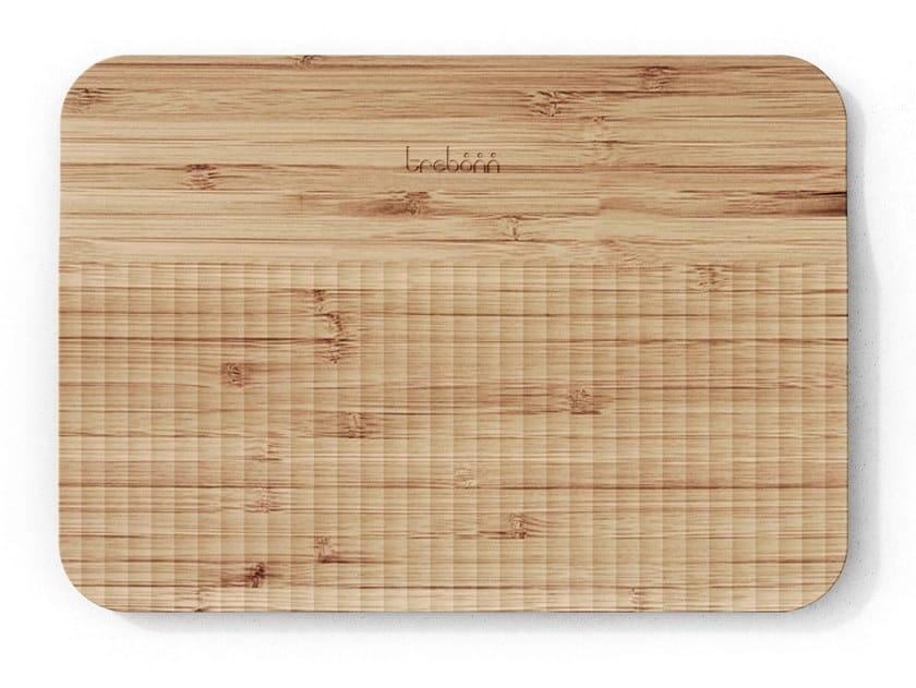 Tagliere in bambù con pattern guida-taglio WAVE | Tagliere by Trebonn