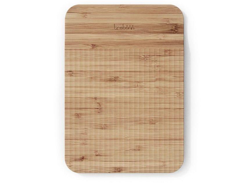Tagliere in bambù con pattern guida-taglio WAVE   Tagliere rettangolare by Trebonn