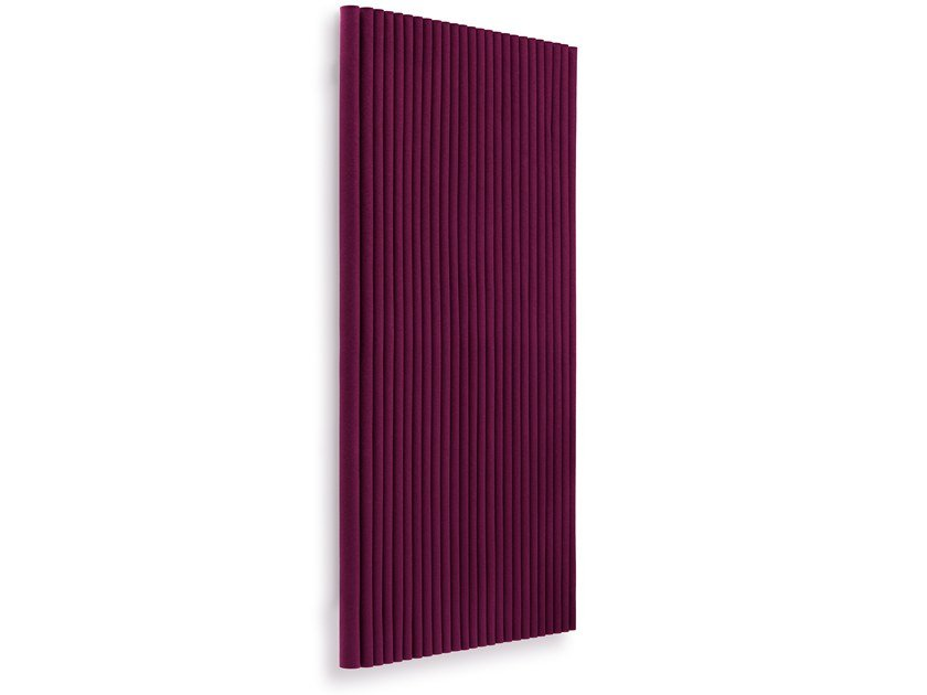 Felt decorative acoustical panel WAVE UPRIGHT by HEY-SIGN