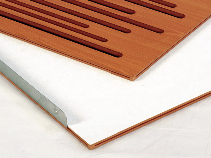 Wooden decorative acoustical panel WAVEWOOD BC by Vicoustic by Exhibo