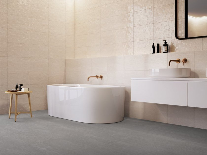 Indoor white-paste wall tiles WAY SERENE by RECER