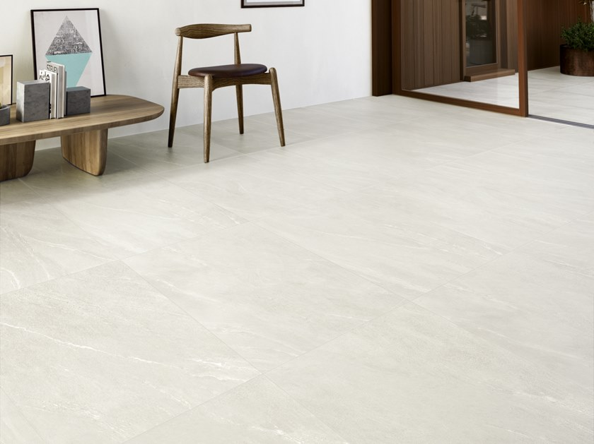Porcelain stoneware wall/floor tiles with stone effect WAYSTONE LIGHT by CERAMICA SANT'AGOSTINO