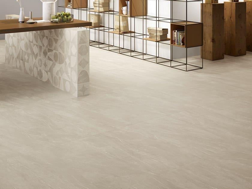 Pavimento/rivestimento in gres porcellanato effetto pietra WAYSTONE SAND by CERAMICA SANT'AGOSTINO