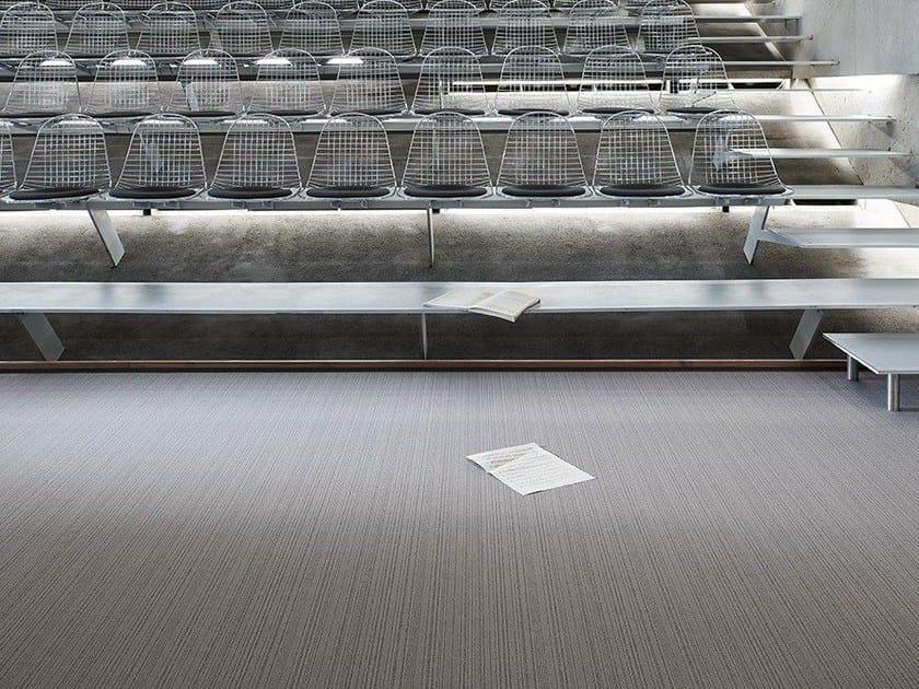 Synthetic fibre carpet tiles WEB CODE 400 by OBJECT CARPET GmbH