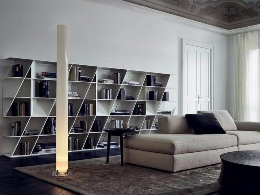 Open Corian® bookcase WEB by poliform