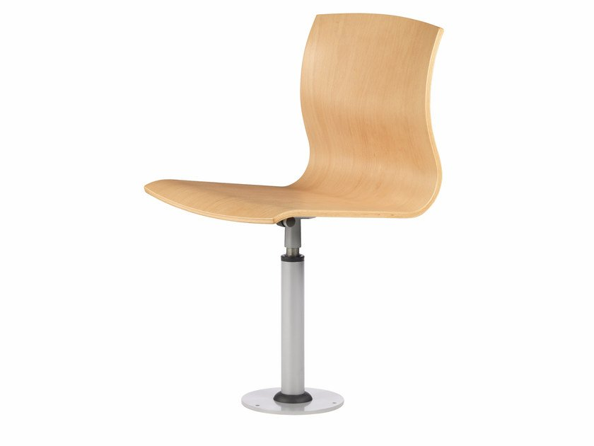 Swivel multi-layer wood chair WEBWOOD 360 F by TALIN