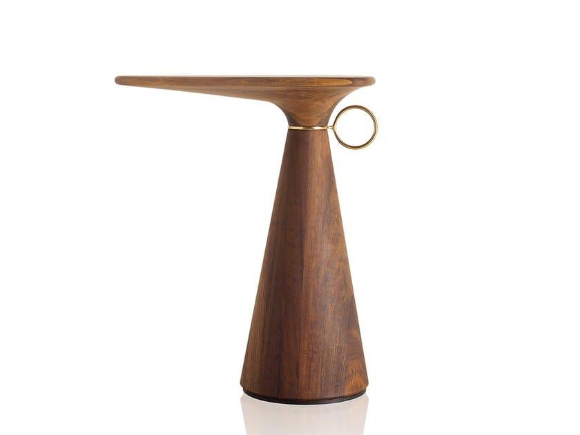 Tavolino di servizio in legno composito WED | Tavolino in legno composito by Sollos