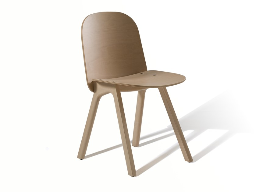 Beech chair WEDGE 360M by Capdell