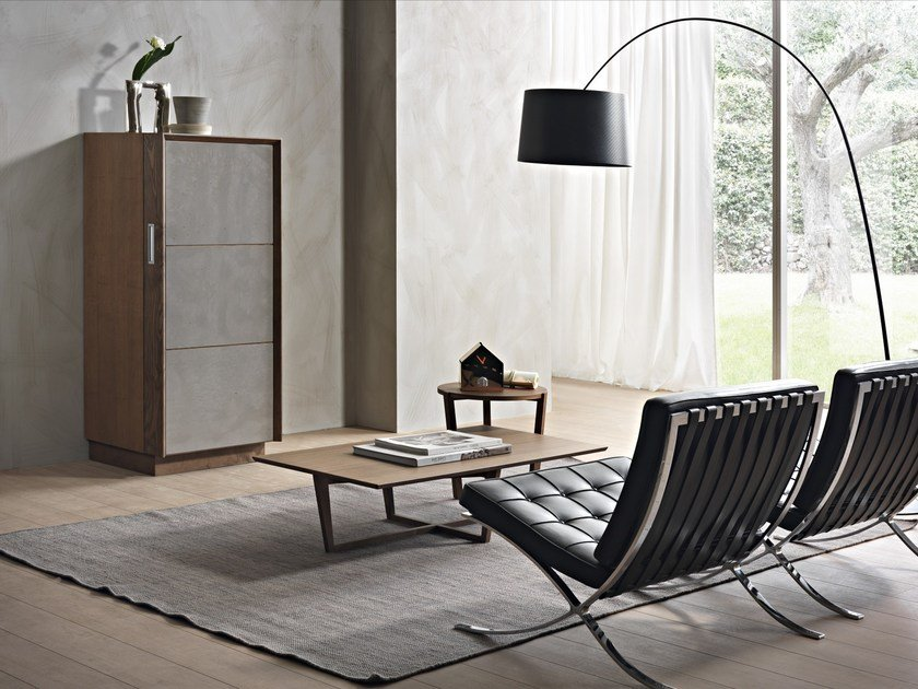 Highboard with doors WEEKLY by Pacini & Cappellini