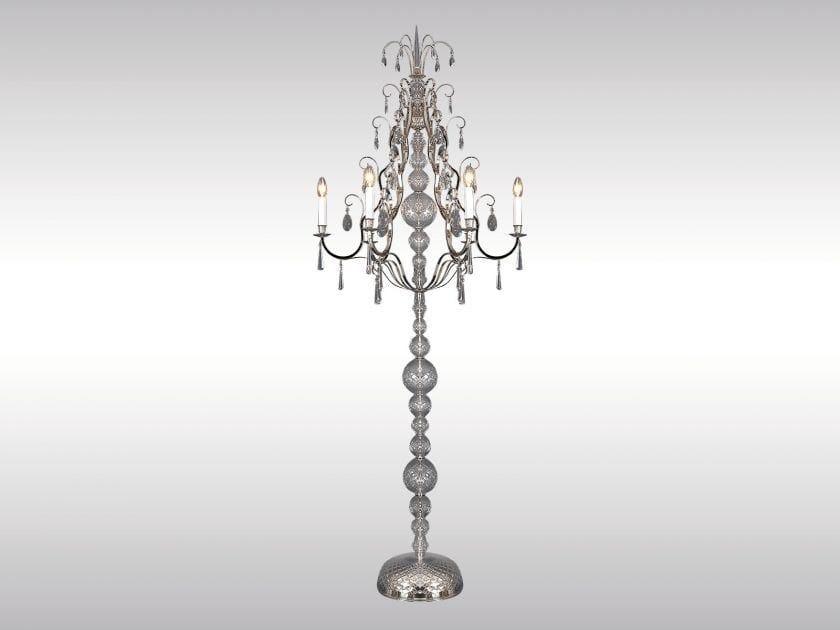Classic style floor lamp WEGA by Woka Lamps Vienna