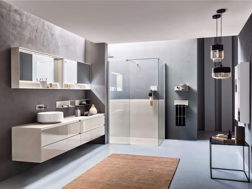 Pietrablu™ bathroom furniture set WELL COMP.2 | Bathroom furniture set by ARBLU