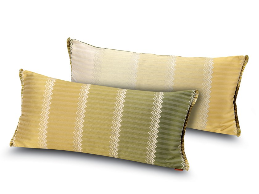 Cushion in jacquard fabric WELLS | Rectangular cushion by MissoniHome