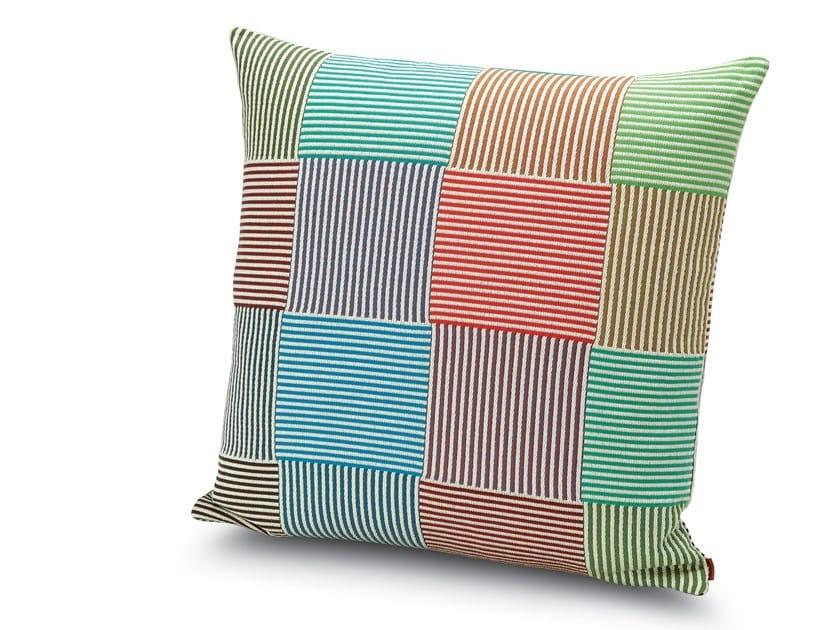 Cushion in jacquard Trevira CS WEMBLEY by MissoniHome