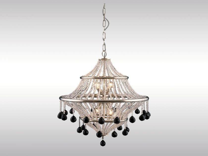 Classic style crystal chandelier WERKBUND by Woka Lamps Vienna