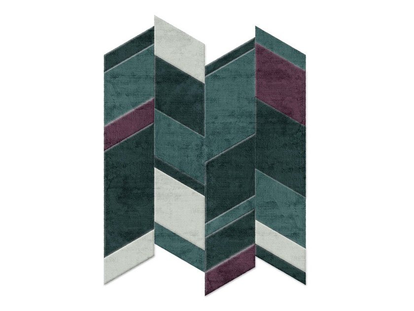 Hand-tufted rug WEST COAST by Sirecom