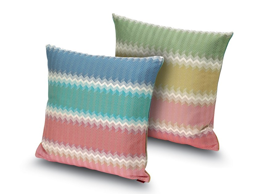Cushion in jacquard fabric WESTMINSTER | Cushion by MissoniHome