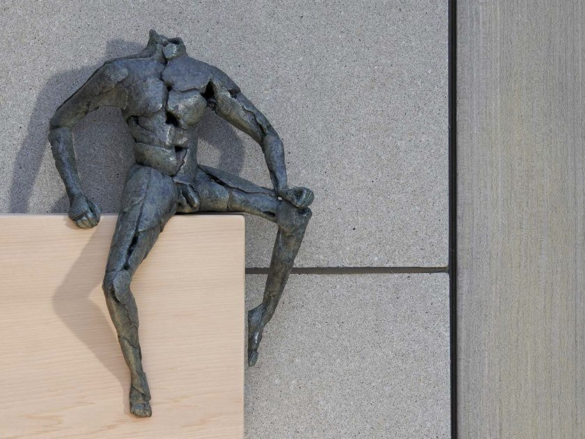 Bronze sculpture WHAT WILL COME by Gardeco